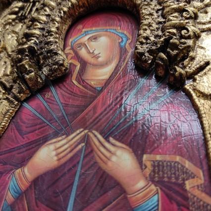 Иконы пресвятой Богородицы Семистрельная