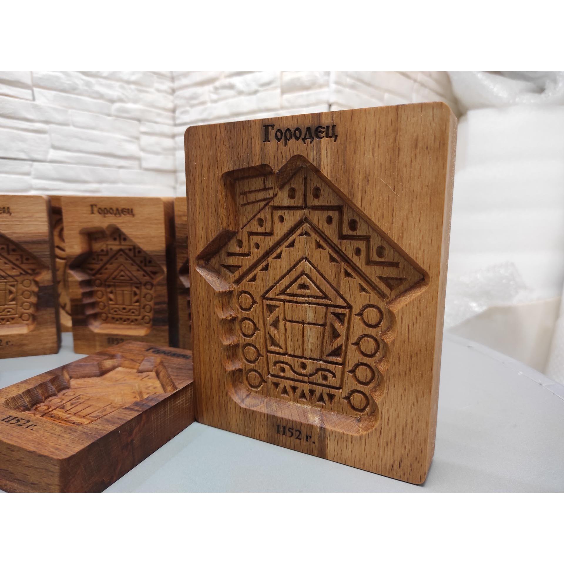 Большая форма для печати пряника Домик