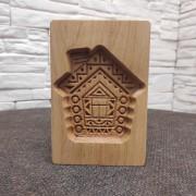 Форма для печати пряника Домик