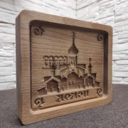 Форма для печати пряника Псков храм
