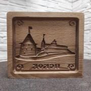 Форма для печати пряника Псков кремль