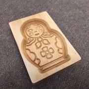 Фото формы для изготовления пряника Матрешка