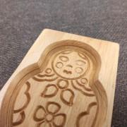Фото формы для изготовления пряника Матрешка вид сверху