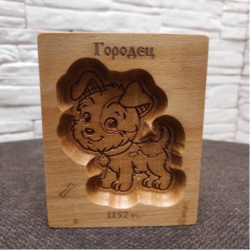 """Форма для печати пряника """"Собачка"""""""