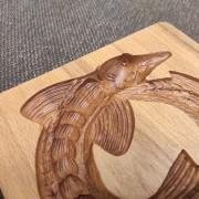Фото глубины рельефа формы стерляди