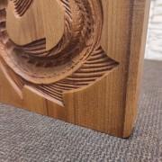 Изображение деревянной формы под пряник Стерлядь колесом детали