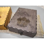 Подарочный футляр из фанеры для иконы размером 14-19 см
