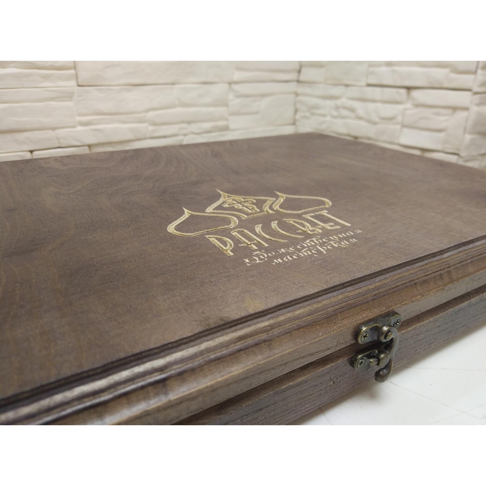 Подарочный футляр для иконы размером 30-46 см