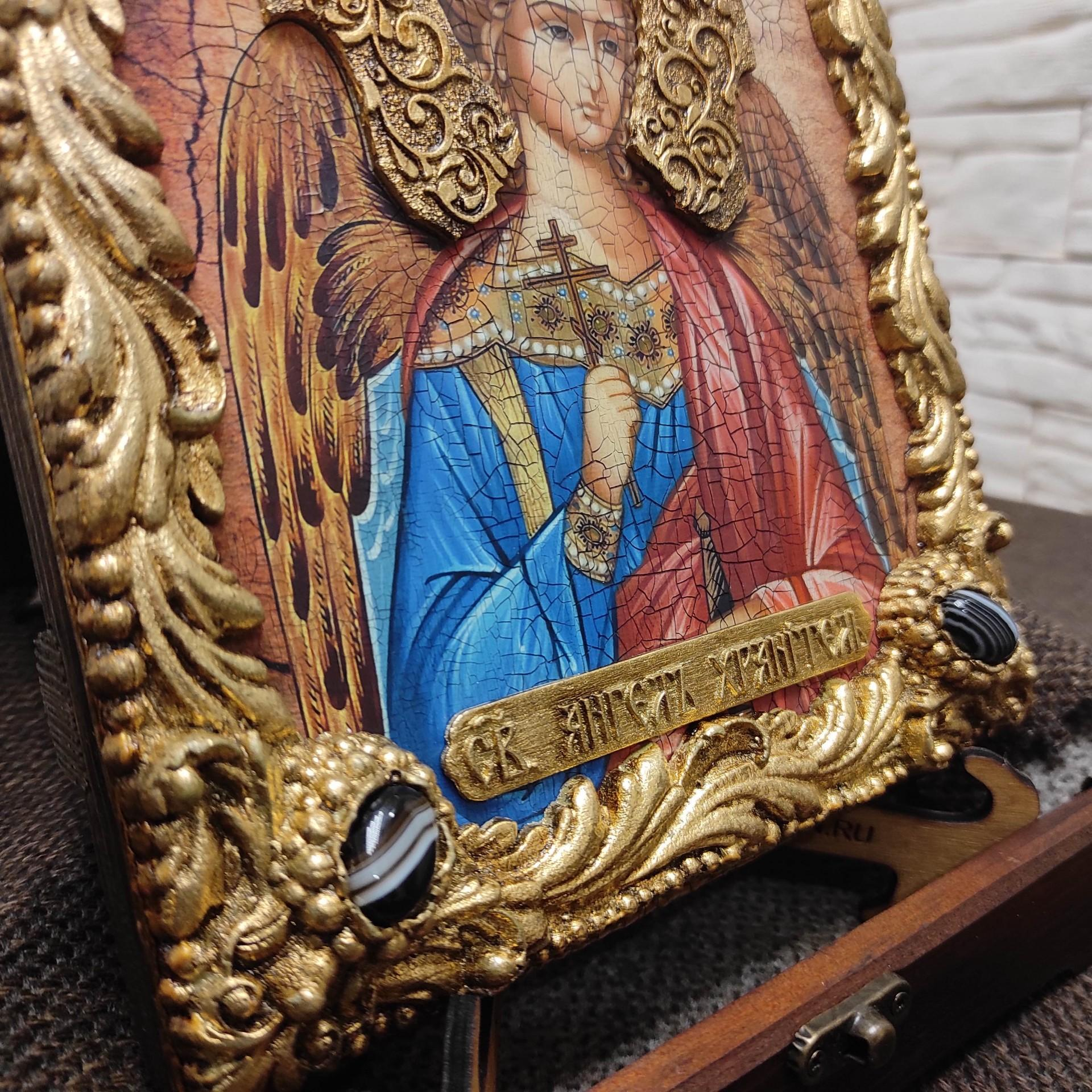 Фото ризы Ангела Хранителя в футляре