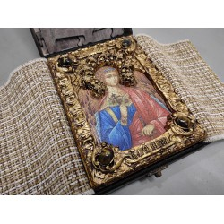 Подарочная икона Ангел Хранитель с иглицами