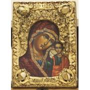 Подарочная икона пресвятой Богородицы Казанская с иглицами