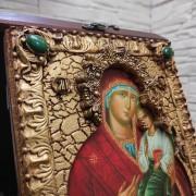 Фото верхних камней иконы пресвятой богородицы Песчанская с камнями