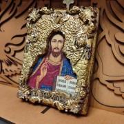 Фото маленькой иконки Господа Вседержителя