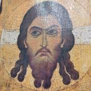 Фото Спас Нерукотворный икона под старину, массив сосны