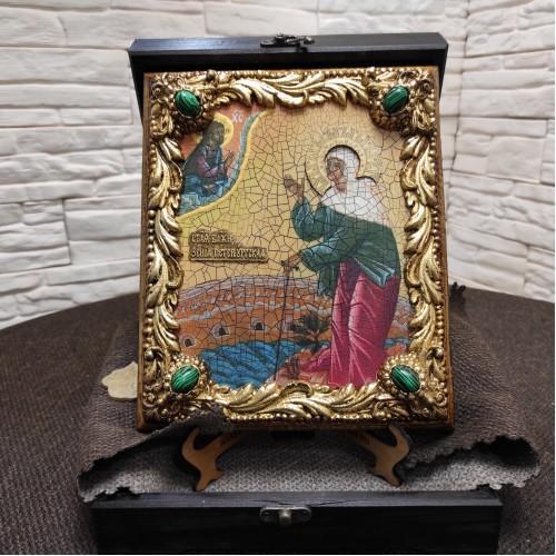 Именная икона Ксении Петербургской, святая блаженная