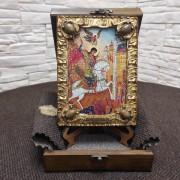Икона святого Георгия Победоносца, подарочная
