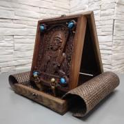 Резная икона святой благоверный князь Игорь Черниговский