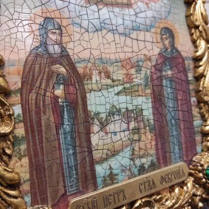 Икона Петра и Февронии фото и описания в каталоге