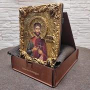 Фото иконы Платон Анкирский в футляре с подставкой