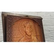 Резная икона святой равноапостольный князь Владимир