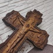 Фото распятие Иисуса Христа, большое вид сбоку