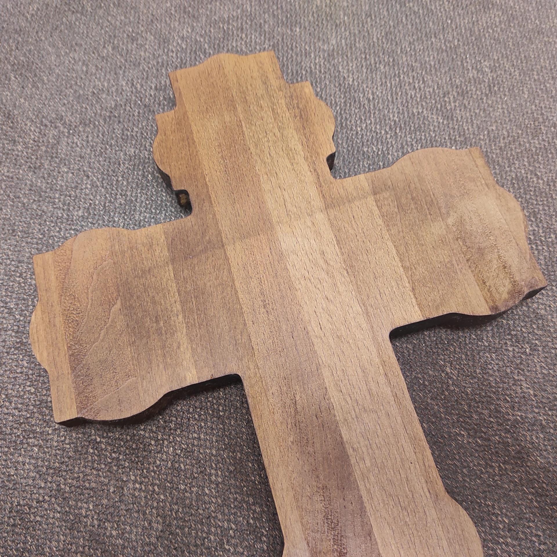 Фото распятие Иисуса Христа, большое вид сзади